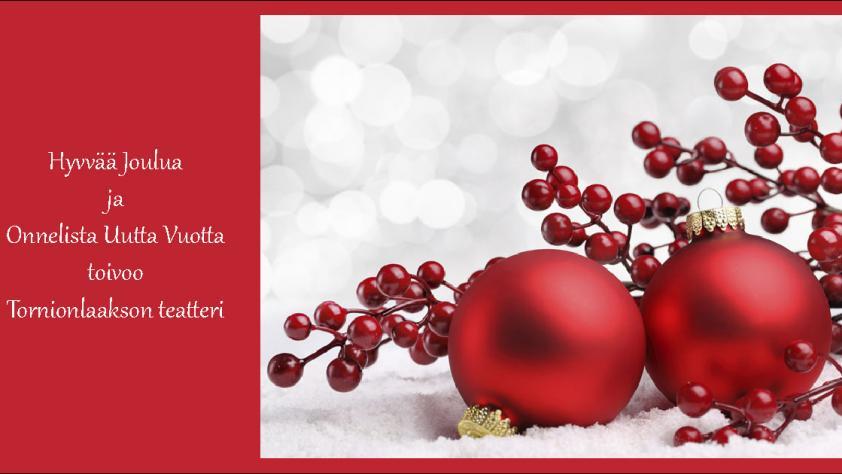 Julkort från Tornedalsteatern