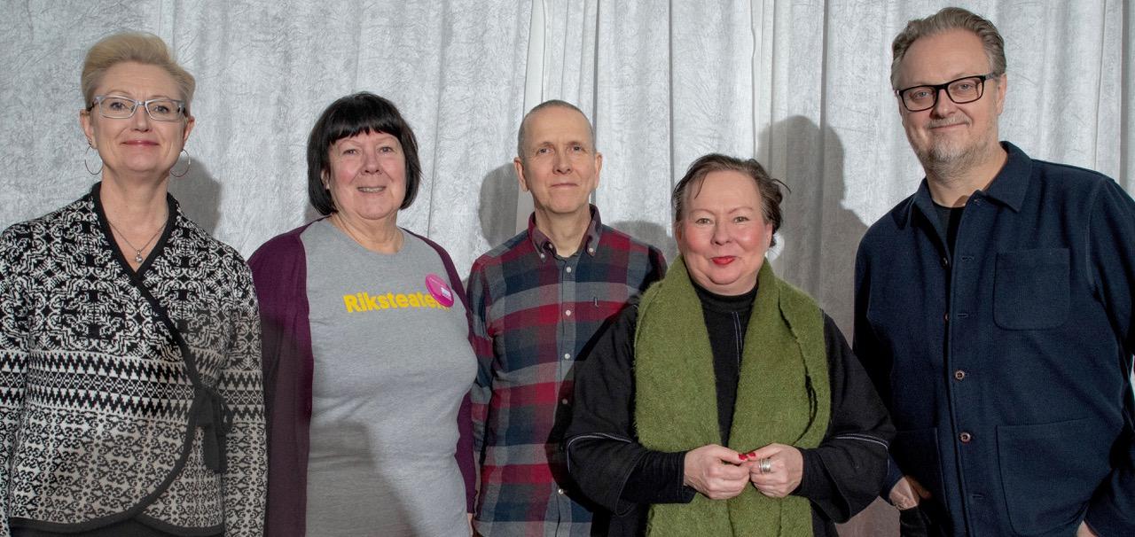 Kristina Nilsson, Kristina Grubbström, Erling Fredriksson, Åsa Simma och Magnus Aspegren